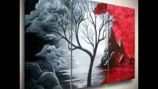 Video Abstract Paintings of Trees for the Tree of Life Fans download MP3, 3GP, MP4, WEBM, AVI, FLV Agustus 2018