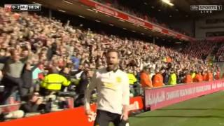 Video Gol Pertandingan Liverpool vs Manchester United