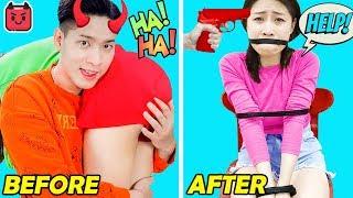 18 BEST PRANKS &amp FUNNY TRICKS  TOP Funny Tik Tok Pranks Wars! Funny DIY &amp Tik Tok Memes Compilation