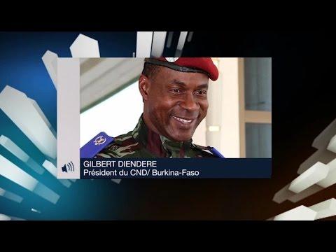 Burkina Faso, Coup d'État: Interview de Gilbert DIENDERE, Président du CND