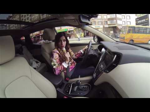 #1 Hyundai Santa Fe | Test Drive з Іриною Висоцькою
