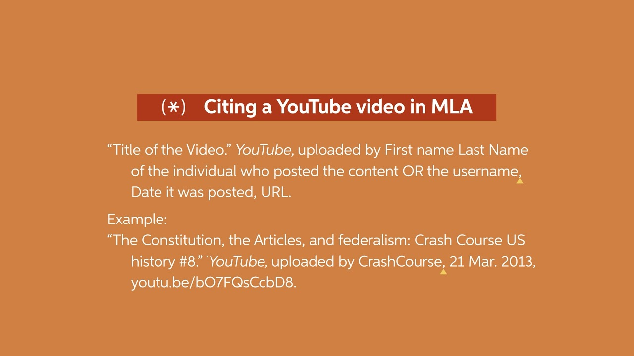 How To Cite A Youtube Video Citation Machine