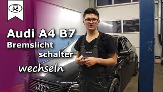 Audi A4 Bremslichtschalter Wechseln  |   Change the brake light switch  | VitjaWolf  | Tutorial | HD
