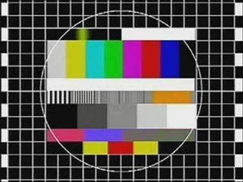 Test Card 1991 Europe