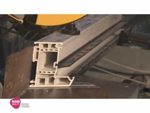 rehau upvc window fabrication doovi. Black Bedroom Furniture Sets. Home Design Ideas
