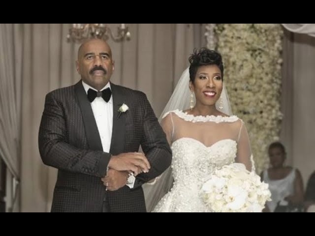 Steve Harvey LOSES It On Daughters Wedding Day What He Does To Groom My Heart Is Breaking