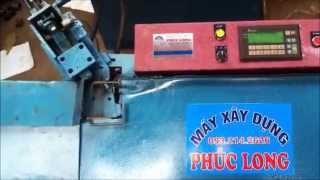 Máy nắn sắt xây dựng tự động PHÚC LONG
