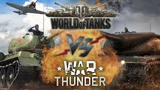World of Tanks VS War Thunder | Оф. трейлеры