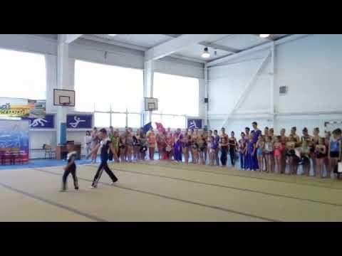 Спортивная акробатика награждение Тимашевск 2019