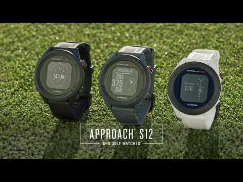 Garmin Approach S12 GPS Watch - Features