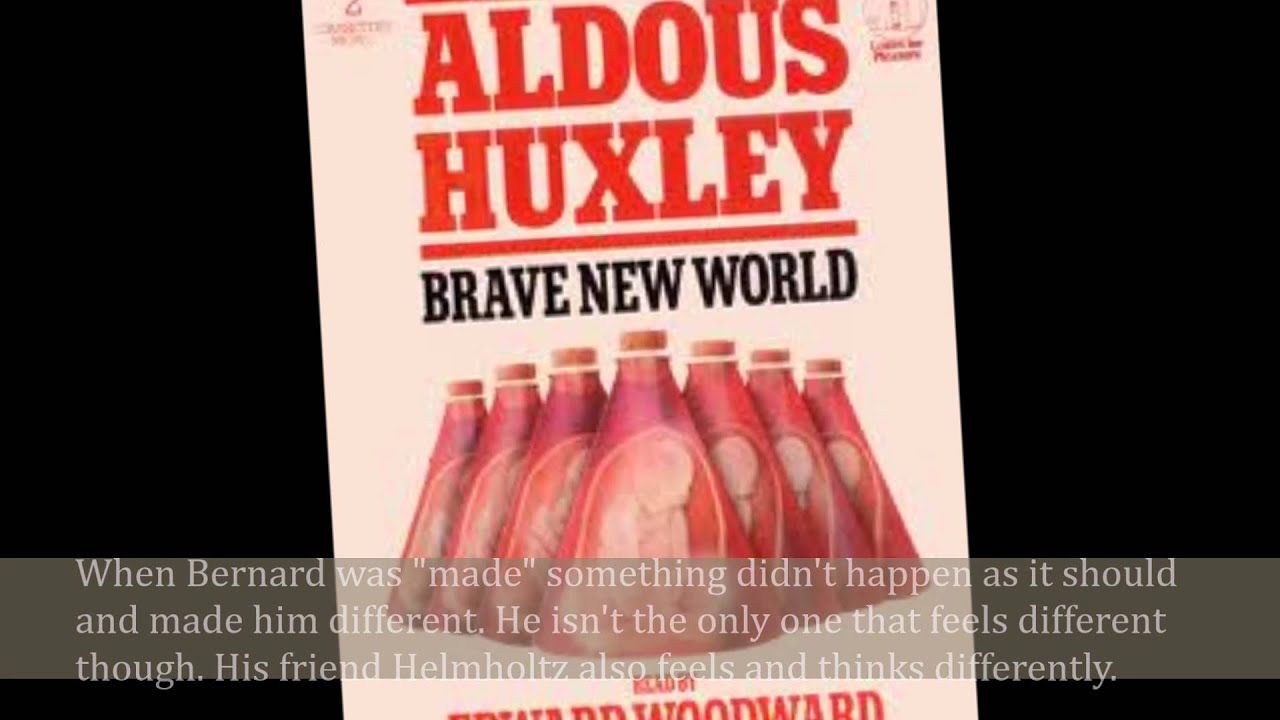 an analysis of aldous huxleys a brave new world In his novel brave new world aldous huxley tells the story of a world of people who have given up the right to an imperfect world.