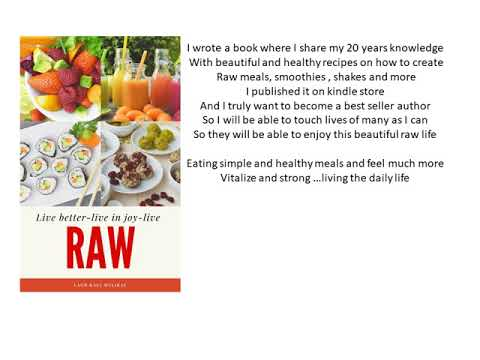 make a raw meals - raw food dinner meal ideas & a soup recipe |