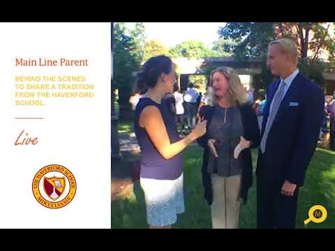 Behind the Scenes: First Day Tradition at The Haverford School 2018