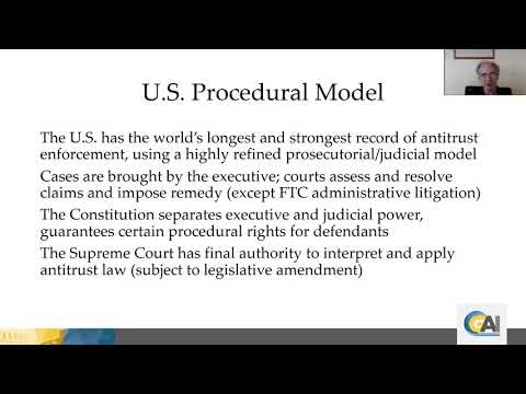GAI Online Lecture Series - Antitrust Procedures