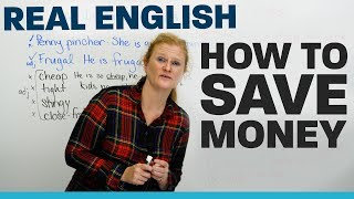 Vocabulary & Tips to SAVE MONEY