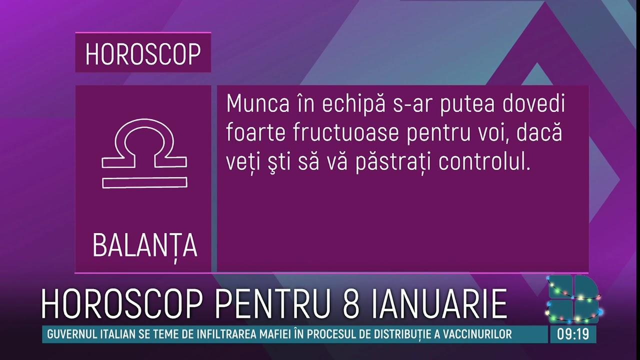 HOROSCOP 8 ianuarie. Zi plină de energie pentru PEŞTI şi SCORPIONI