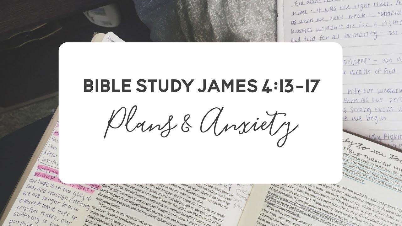 Verse by Verse Bible Study - James 4:13-17