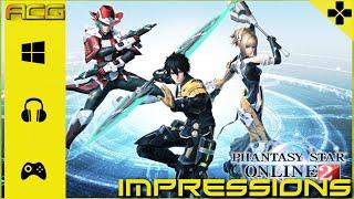 Phantasy Star Online 2 Beta Impressions