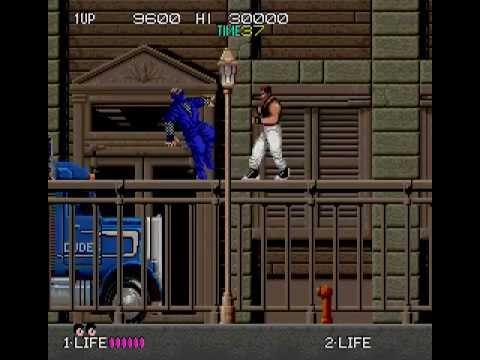 Arcade Longplay [256] Bad Dudes vs. Dragon Ninja