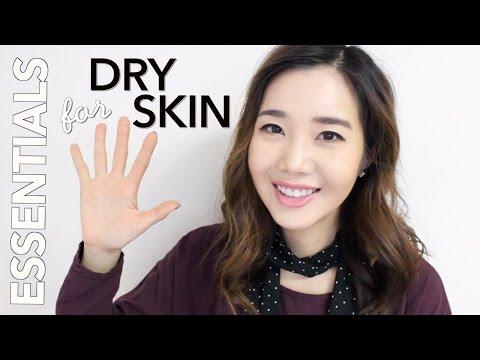 Korean Skincare Essentials for DRY SKIN