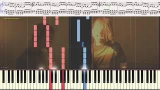 Smells Like Teen Spirit - Nirvana (Ноты и Видеоурок для фортепиано) (piano cover)