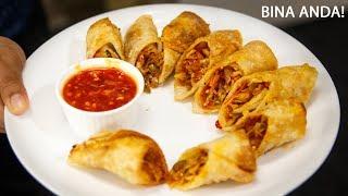 बेस्ट स्प्रिंग रोल्स बनाने की विधि  restaurant spring rolls sheets recipe cookingshooking