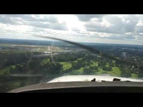 C172 Landing At CYOW - Ottawa International Airport