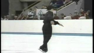 Masakazu Kagiyama 鍵山正和 (JPN) - 1993 Piruetten, Figure Skating, Men's Free Skate