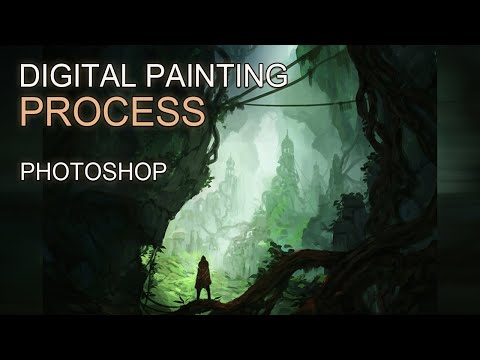 Digital Painting - Environment Concept Art II - Time-Lapse
