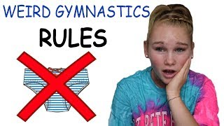 BIZARRE RULES IN GYMNASTICS!