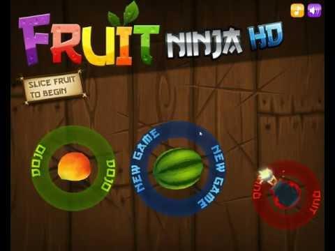 Краткий обзор игры фруктовый ниндзя