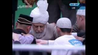 Baiat - Eintritt in die Ahmadiyya Muslim Jamaat - Jalsa Salana Germany 2012
