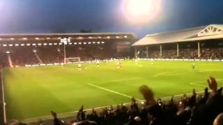 Fulham FC vs Swansea City FC - Just After 2nd Goal - 29.12.12