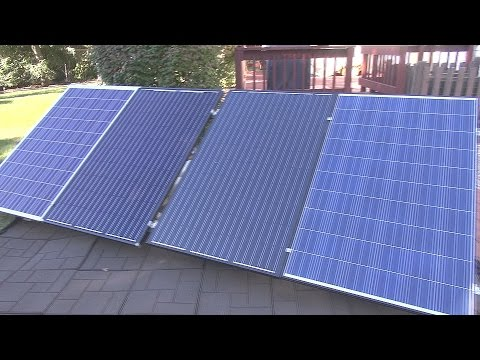 How to Solar Power Your Home #8 - Grid Tied System - Enphase