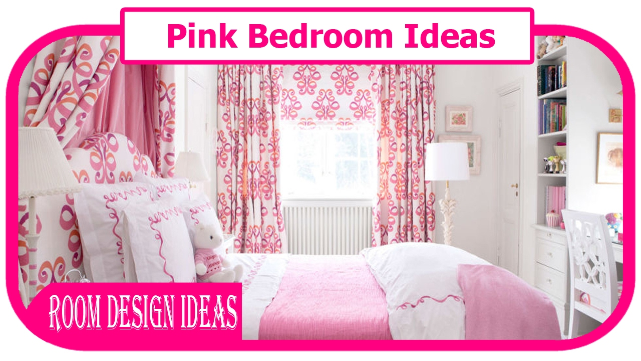 Pink Bedroom Ideas - Lovely Pink Bedroom Ideas For Girl
