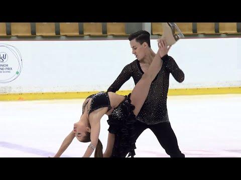 Anastasia SHPILEVAYA / Grigory SMIRNOV RUS -Riga - Short Dance - ISU - JGP 2017