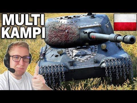 MULTI KAMPI - Polska vs Niemcy - World of Tanks