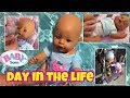 Baby Born doll Zapf Creations day in the Life on Florida vacation