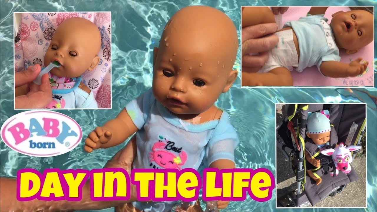 Baby Born Doll Zapf Creations Day In The Life On Florida