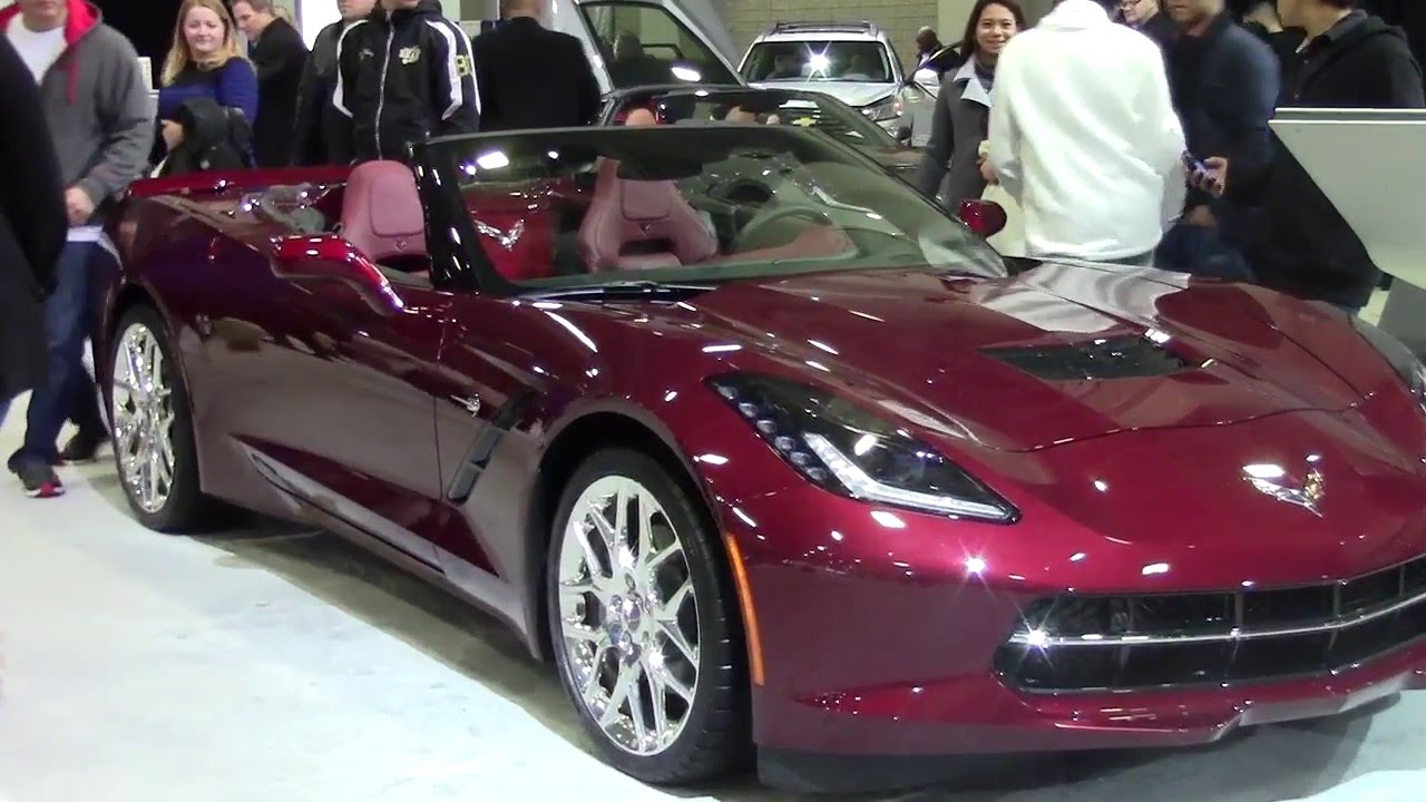 Corvette Stingray Convertible Chevy 2017 Washington Dc Auto Show 2016