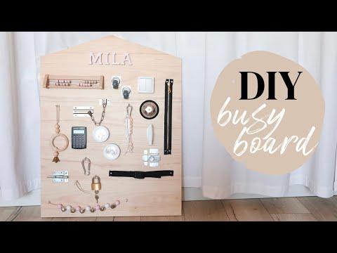 DIY busy board  - YouTube
