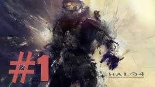 Halo 4 Walkthrough - Gameplay Commentary - Part 1 (X360)