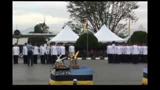 ISTIADAT PERBARISAN TAMAT LATIHAN PERAJURIT MUDA TUDM SIRI 47/2012