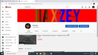 Roblox Playing Random games Happy new year 2020