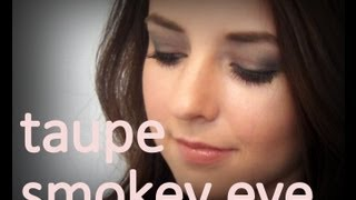 Smokey Taupe Makeup Tutorial Thumbnail