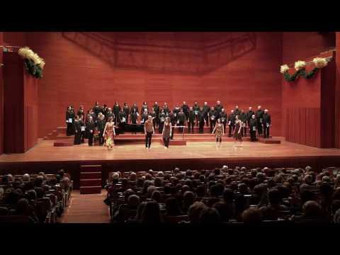 Johannes Brahms - Liebeslieder Walzer, op. 52 (18. Es bebet das Gesträuche)