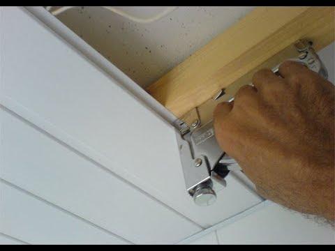 Как обшить потолок пластиковой вагонкой