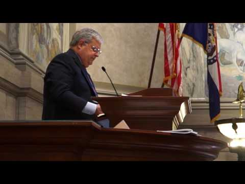 Missouri Senate President Pro Tem Ron Richard's 2016 Closing Day Address