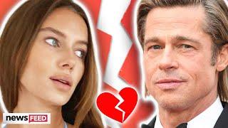 Brad Pitt SPLITS From GF In An Open Marriage?!