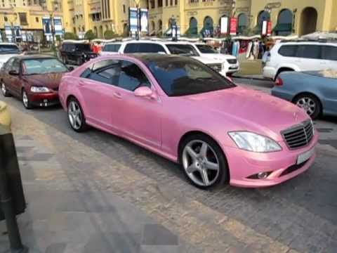 Mercedes benz s500 pink youtube for Pink mercedes benz
